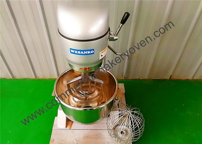 SS Commercial Planetary Mixer Easy Operate 10L - 80L For Cake Making